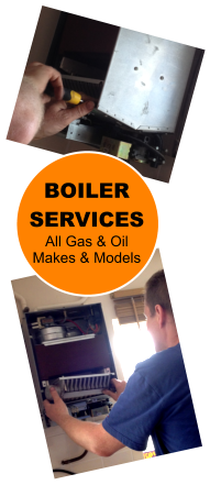 BOILER SERVICES All Gas & Oil Makes & Models